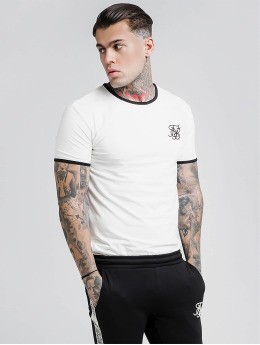 Sik Silk T-Shirt Bound Ringer Gym white