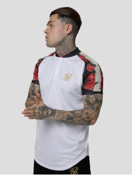 Sik Silk T-Shirt Majestic Baseball white