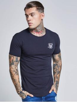 Sik Silk T-shirts Short Sleeve Gym blå