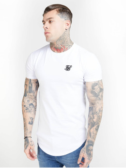 Sik Silk T-Shirty Core Gym bialy