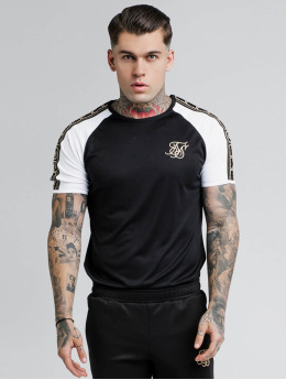 Sik Silk T-Shirty Performance czarny