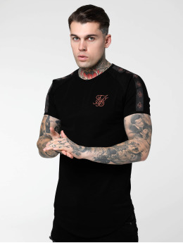Sik Silk T-Shirty Tape Gym czarny