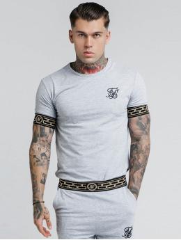 Sik Silk T-skjorter Cartel Lounge grå