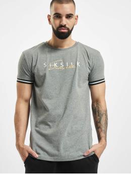 Sik Silk T-skjorter Signature  grå