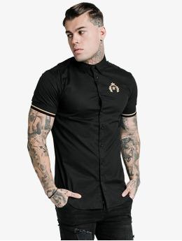 Sik Silk T-skjorter S/S Prestige Inset Cuff svart