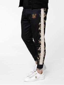Sik Silk tepláky Black Edition Poly Cuffed  èierna