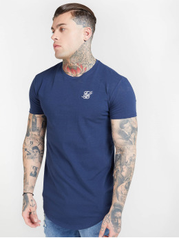 Sik Silk Tričká Core Gym modrá
