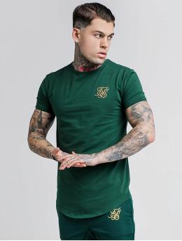 Sik Silk Tričká Gym zelená