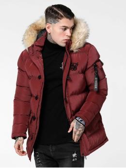 Sik Silk Vattert jakker Shiny  red