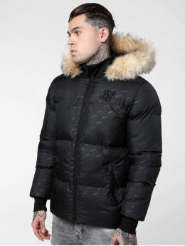 Sik Silk Winter Jacket Destruction  black
