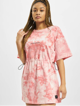 Sixth June Šaty Tie Dye růžový