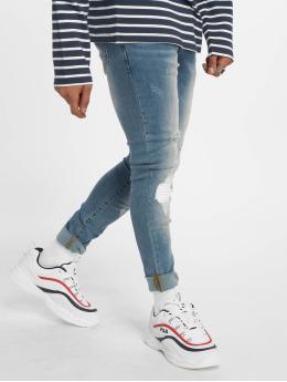 Sixth June Облегающие джинсы Open Knee Detail синий