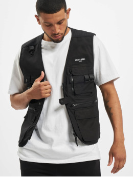 Sixth June Bodywarmer Fishing  zwart