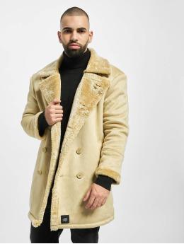 Sixth June Cappotto Teddy Fur beige