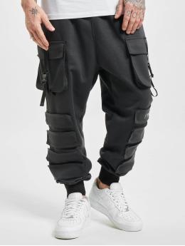 Sixth June Cargo pants Front Buckle Pocket svart