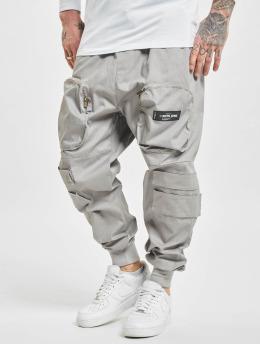 Sixth June Cargohose Front Zip Pocket  grau