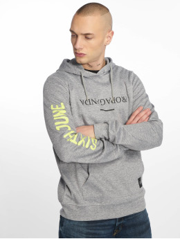 Sixth June Hoodie Wyoming Propaganda gray