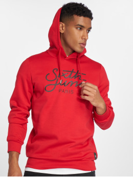 Sixth June Hoodie Logo red