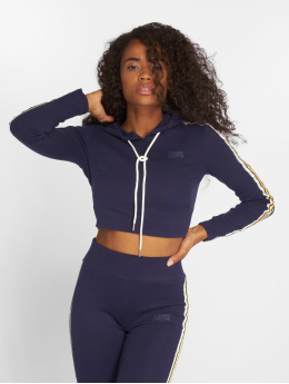 Sixth June Hoody Cropped blau