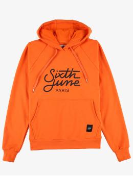 Sixth June Hoody Classic Oversize oranje