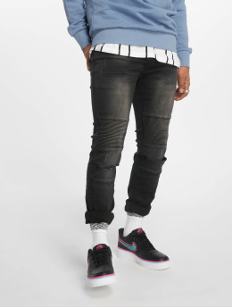 Sixth June Jeans slim fit Washed grigio