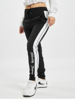 Sixth June Jogginghose Nylon Joggers schwarz