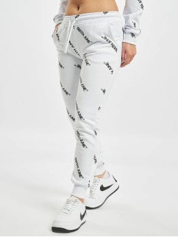 Sixth June Jogginghose Overall Print weiß
