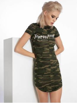 Sixth June jurk Parisiennes camouflage