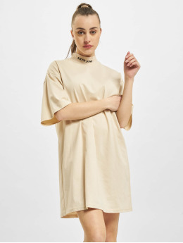 Sixth June Kleid High Neck beige