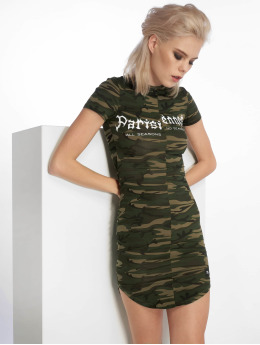 Sixth June Kleid Parisiennes camouflage