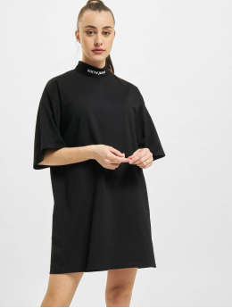 Sixth June Kleid High Neck  schwarz