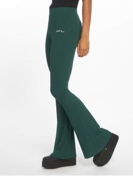 Sixth June Látkové kalhoty Rib zelený