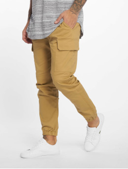 Sixth June Pantalon cargo Jogger beige