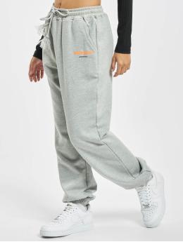 Sixth June Pantalone ginnico Basic Logo grigio