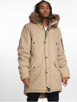 Sixth June Parka Fur Parka bezowy
