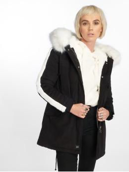 Sixth June Parka Fur black