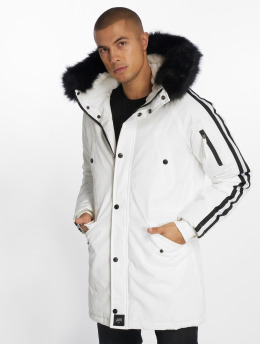 Sixth June Parka Stripes blanco