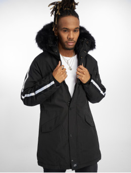 Sixth June Parka Stripes noir