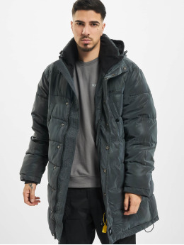 Sixth June Parka Irridescent schwarz