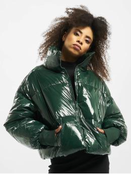 Sixth June Puffer Jacket Oversize Vinyl green