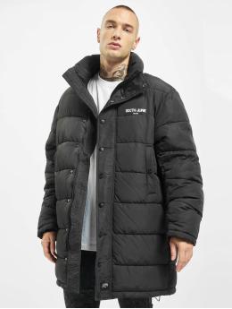 Sixth June Puffer Jacket Long Oversize Down schwarz