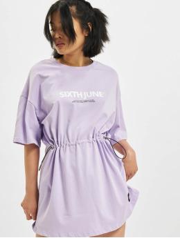 Sixth June Robe Elastic  pourpre