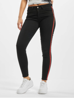 Sixth June Skinny Jeans With Bands black