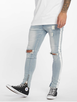 Sixth June Skinny Jeans Stripes blau