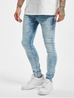 Sixth June Skinny Jeans Light Washed blau