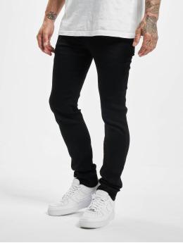 Sixth June Skinny Jeans Basic  schwarz
