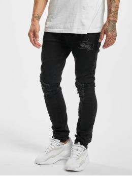 Sixth June Skinny jeans Inside Bandana Yoke zwart