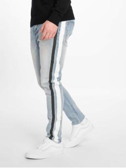 Sixth June Slim Fit Jeans Bands modrý