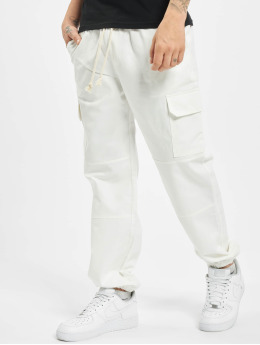 Sixth June Spodnie Chino/Cargo Strings bialy