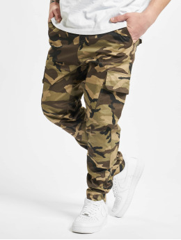 Sixth June Spodnie Chino/Cargo Fashion Army moro